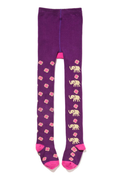 431.1- Holiday Elephant Footed Tights