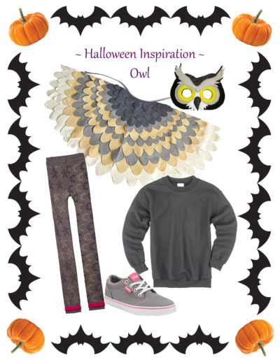 Do-It-Together Owl Costume